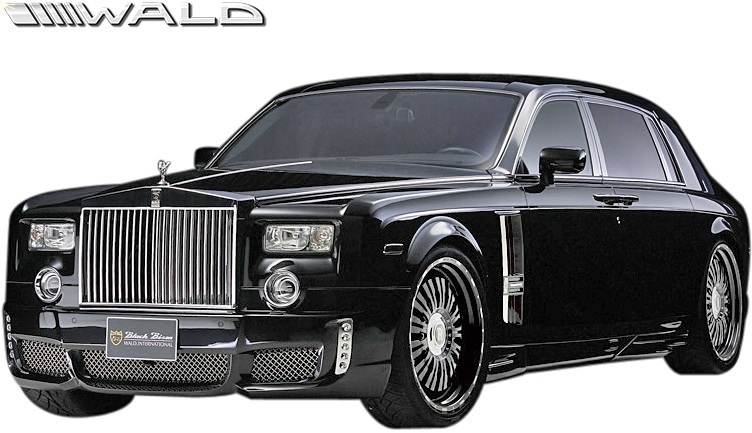 【M's】 Rolls Royce ファントム (2003y-2008y) WALD Black Bison トランクスポイラー//ウイング FRP ヴァルド バルド エアロ ロールス_画像6