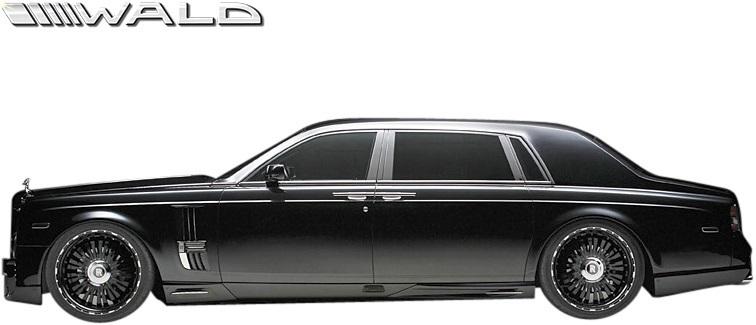 【M's】Rolls Royce PHANTOM (2003y-2008y) WALD Black Bison トランクスポイラー//ウイング FRP ヴァルド バルド エアロ ロールス_画像5