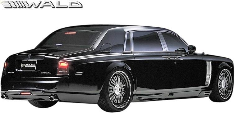 【M's】Rolls Royce PHANTOM (2003y-2008y) WALD Black Bison トランクスポイラー//ウイング FRP ヴァルド バルド エアロ ロールス_画像4