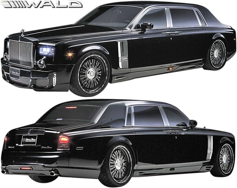 【M's】ロールスロイス ファントム (2003y-2008y) WALD Black Bison トランクスポイラー//ウイング FRP ヴァルド バルド エアロ ロールス_画像7