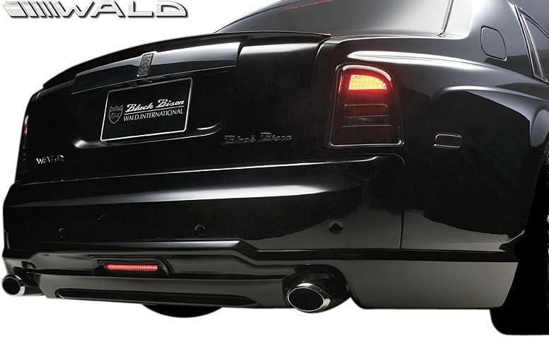 【M's】 Rolls Royce ファントム (2003y-2008y) WALD Black Bison トランクスポイラー//ウイング FRP ヴァルド バルド エアロ ロールス_画像3