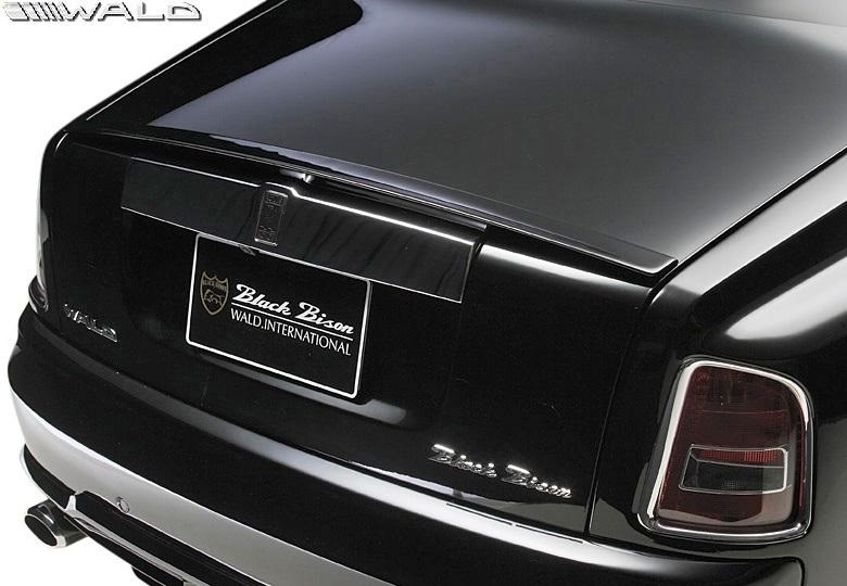 【M's】 Rolls Royce ファントム (2003y-2008y) WALD Black Bison トランクスポイラー//ウイング FRP ヴァルド バルド エアロ ロールス_画像1
