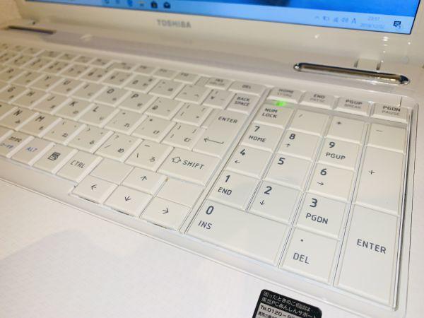【点検・整備済み】 1円~!! ノートPC 東芝 Dynabook EX/66 / Core i5 / メモリ 8GB / SSD 480GB / Win 10 / Office_画像5