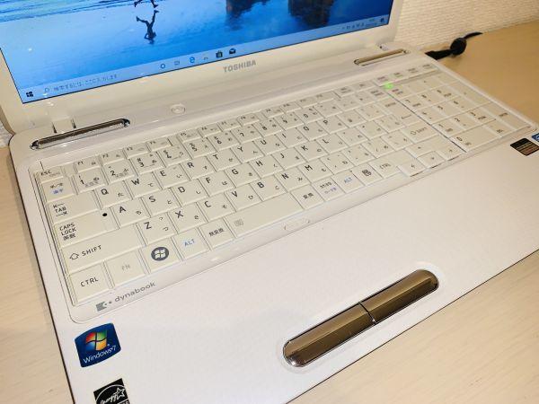 【点検・整備済み】 1円~!! ノートPC 東芝 Dynabook EX/66 / Core i5 / メモリ 8GB / SSD 480GB / Win 10 / Office_画像3