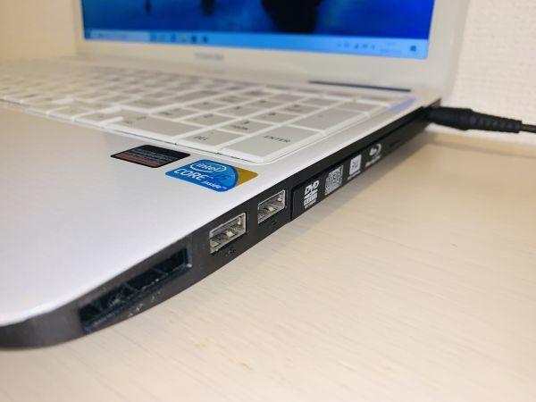 【点検・整備済み】 1円~!! ノートPC 東芝 Dynabook EX/66 / Core i5 / メモリ 8GB / SSD 480GB / Win 10 / Office_画像7