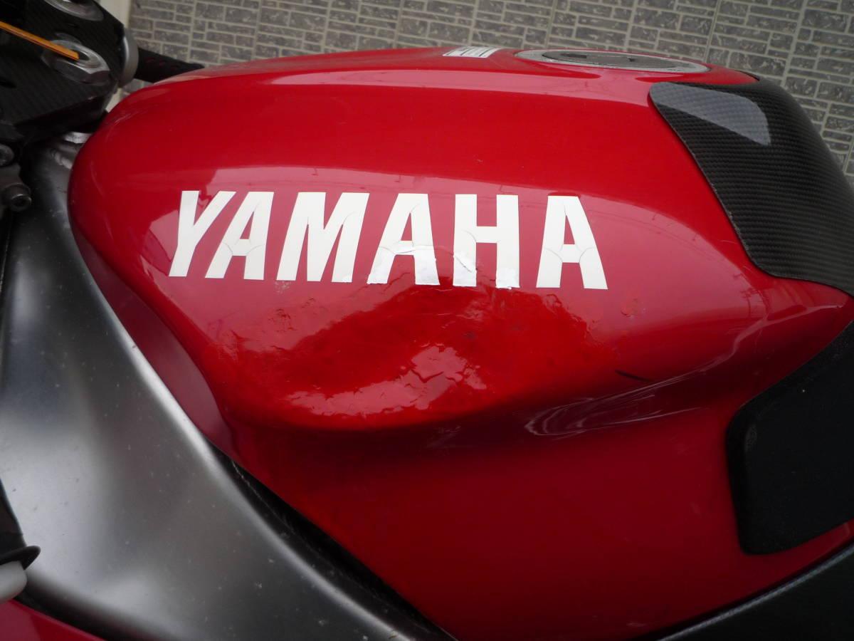 YZF-R1逆車 オーリンズショック・マグネシウムホイール・その他カスタムパーツ付き 中古車ベースに最適 _画像3