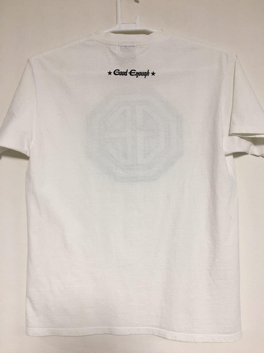【90s 初期 オリジナル】GOOD ENOUGH ロゴ Tシャツ L オリジナル OLD ヴィンテージ アンダーカバー グッドイナフ エイプ_画像2