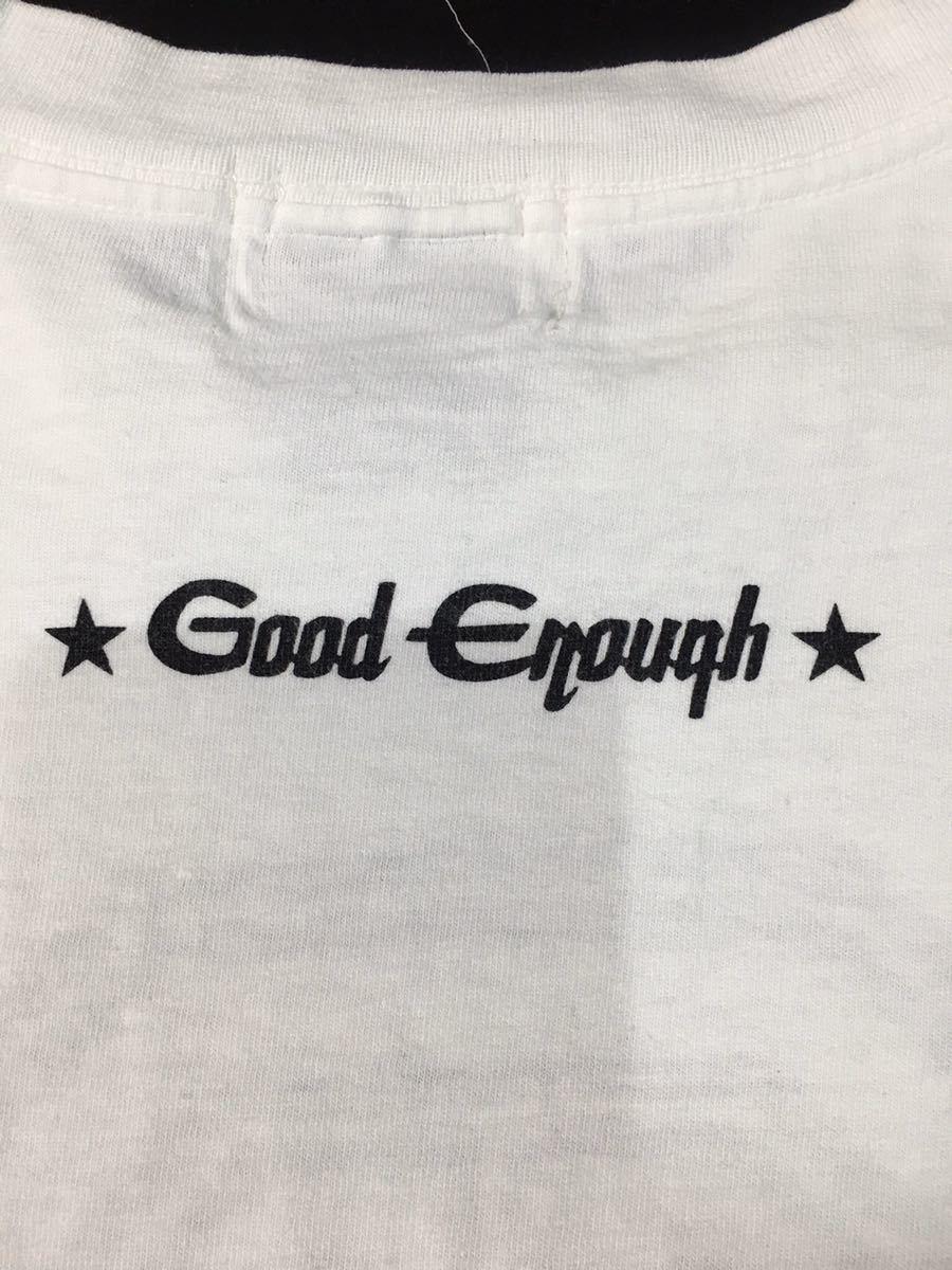 【90s 初期 オリジナル】GOOD ENOUGH ロゴ Tシャツ L オリジナル OLD ヴィンテージ アンダーカバー グッドイナフ エイプ_画像6