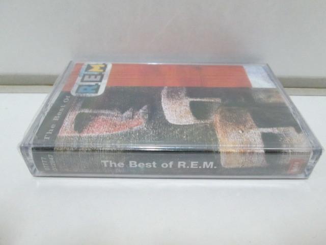 未開封カセットテープ 輸入盤 「THE BEST OF R.E.M」_画像3