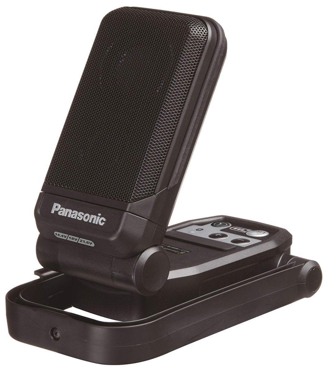 パナソニック EZ37C5-B 黒 bluetoothコンパクトワイヤレススピーカー 本体のみ 14.4V/18V/21.6V対応 アウトドア 持ち運び_画像1