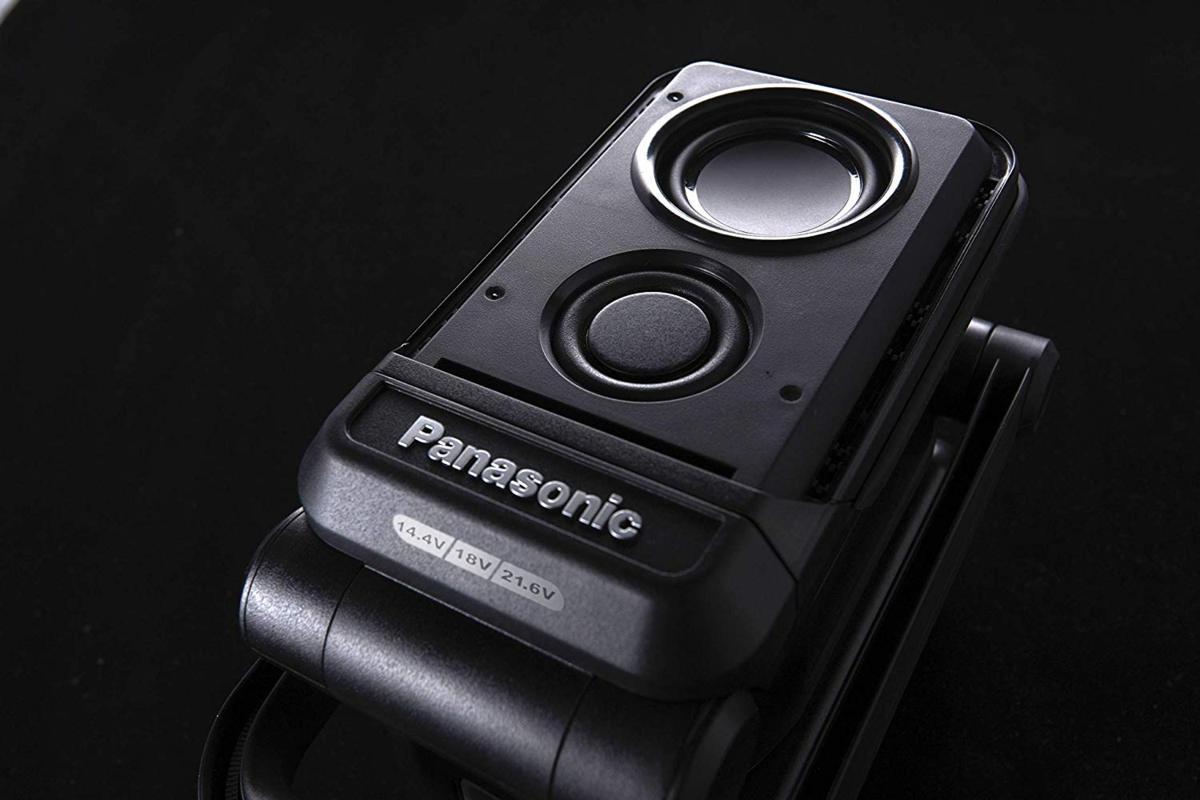 パナソニック EZ37C5-B 黒 bluetoothコンパクトワイヤレススピーカー 本体のみ 14.4V/18V/21.6V対応 アウトドア 持ち運び_画像5