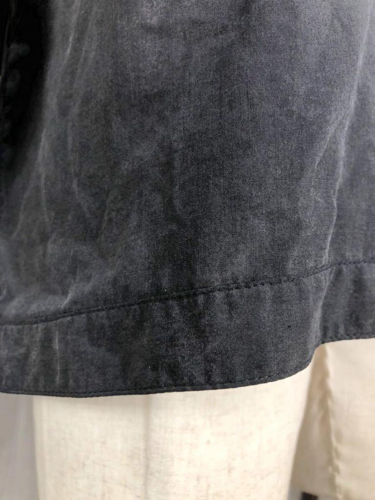 ○ BURBERRY Black Label バーバリーブラックレーベル メンズ ブラック ジップアップ ジャケット ブルゾン アウター 上着 M表記_画像4