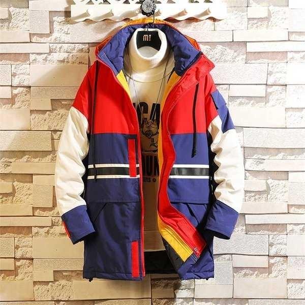 中綿コート メンズ 厚手コート ダウンジャケット アウター アウトドア 切り替え 防寒 秋冬 メンズファッション 1520_画像6