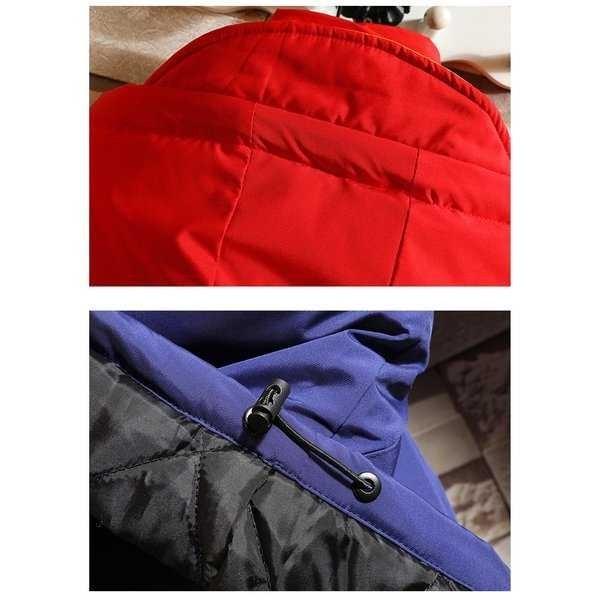 中綿コート メンズ 厚手コート ダウンジャケット アウター アウトドア 切り替え 防寒 秋冬 メンズファッション 1520_画像10
