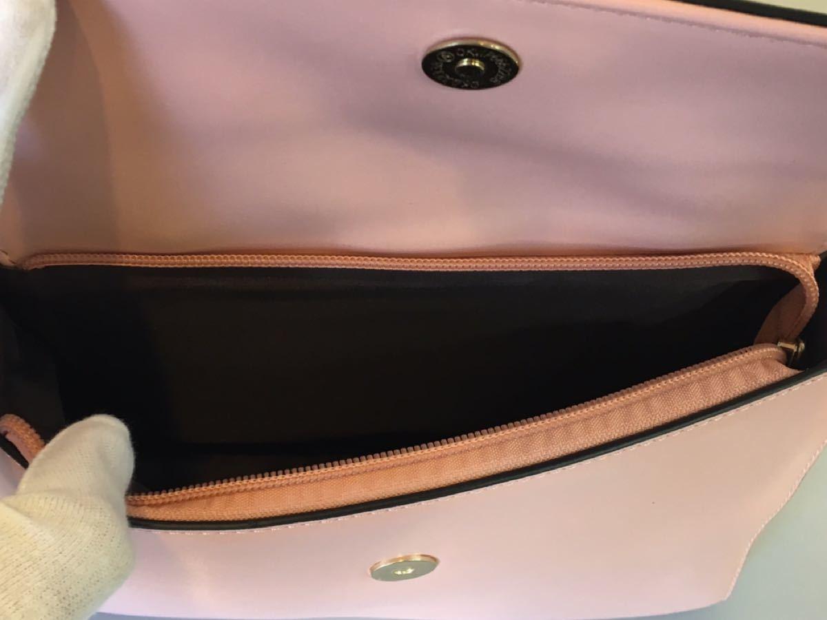 レディース 2WAYバッグ ショルダー・ハンド  PUレザー ピンク