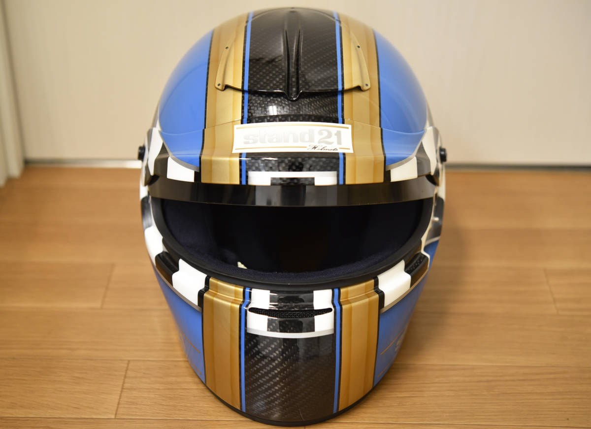 stand21 Helmets ヘルメット カーボン 8 1/8 /64 hans engineered by stand 21 レーシング バイク 軽量 高強度