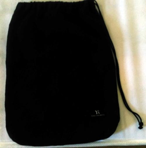 Y'S Yohji Yamamotoヨウジヤマモト 非売品シューズ入れ 巾着袋 布袋 靴袋 保存袋_画像2