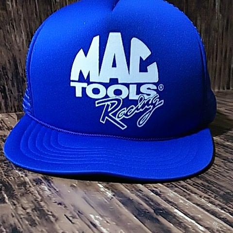 【宅急便コンパクト送料無料】マックツール レーシング 青 メッシュ 帽子 キャップ MAC TOOLS Racing Mesh Cap_画像2
