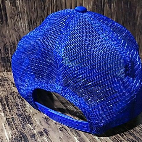 【宅急便コンパクト送料無料】マックツール レーシング 青 メッシュ 帽子 キャップ MAC TOOLS Racing Mesh Cap_画像6