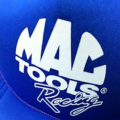 【宅急便コンパクト送料無料】マックツール レーシング 青 メッシュ 帽子 キャップ MAC TOOLS Racing Mesh Cap_画像3
