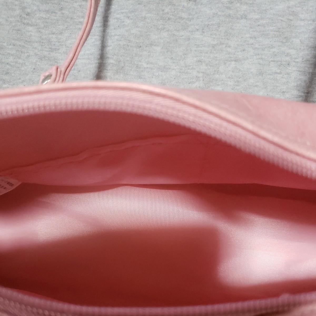 ピンクのバック