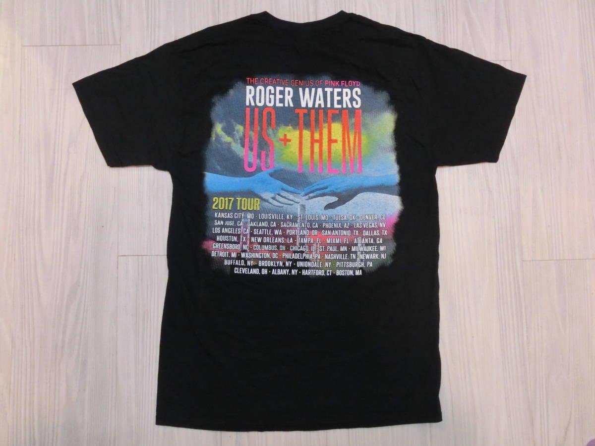 ロジャー・ウォーターズ◇USA ツアー Tシャツ Roger Waters ピンクフロイド バンドT ロック LIVE TOUR THE CREATIVE GENIUS OF PINK FLOYD_画像4