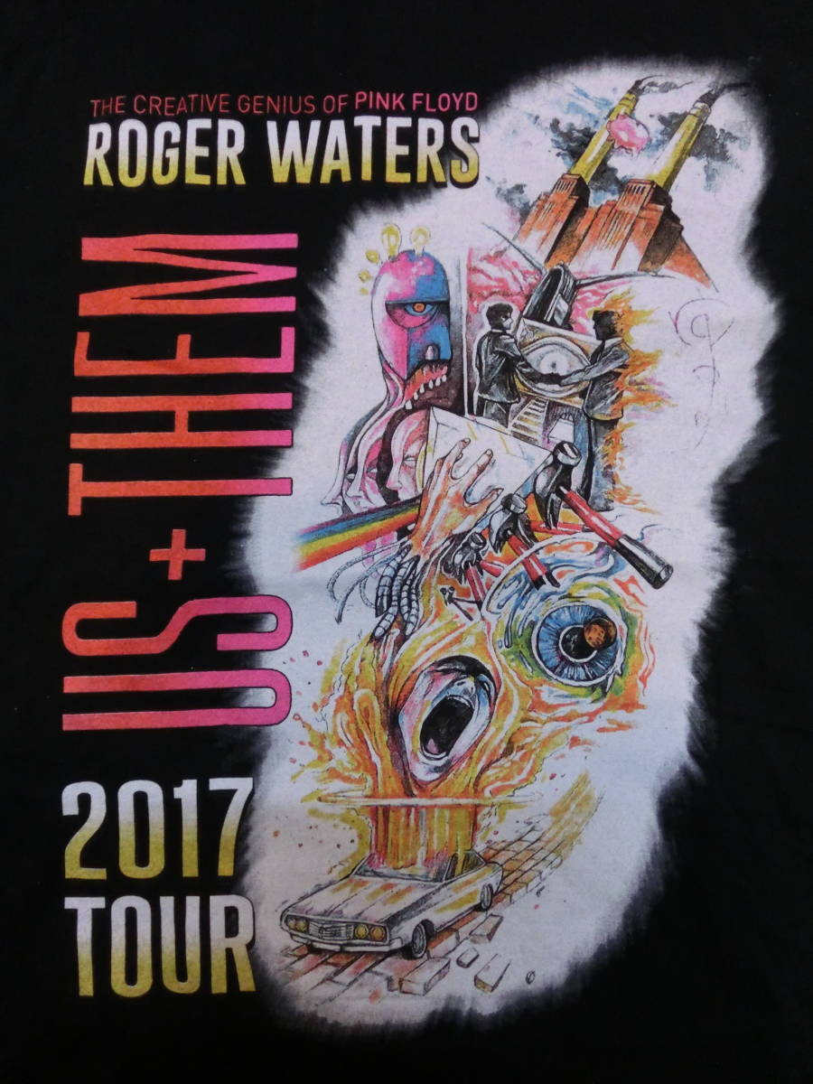 ロジャー・ウォーターズ◇USA ツアー Tシャツ Roger Waters ピンクフロイド バンドT ロック LIVE TOUR THE CREATIVE GENIUS OF PINK FLOYD_画像6