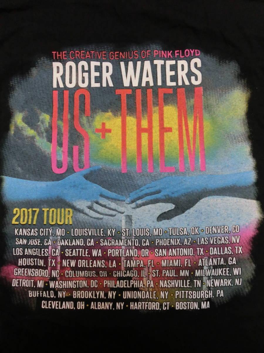 ロジャー・ウォーターズ◇USA ツアー Tシャツ Roger Waters ピンクフロイド バンドT ロック LIVE TOUR THE CREATIVE GENIUS OF PINK FLOYD_画像7