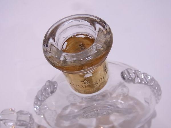 ◆◇REMY MARTIN LOUIS XIII ルイ13世 バカラ デキャンタ空き瓶 替え栓付◇◆_画像9