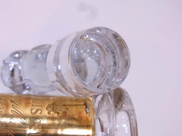 ◆◇REMY MARTIN LOUIS XIII ルイ13世 バカラ デキャンタ空き瓶 替え栓付◇◆_画像6