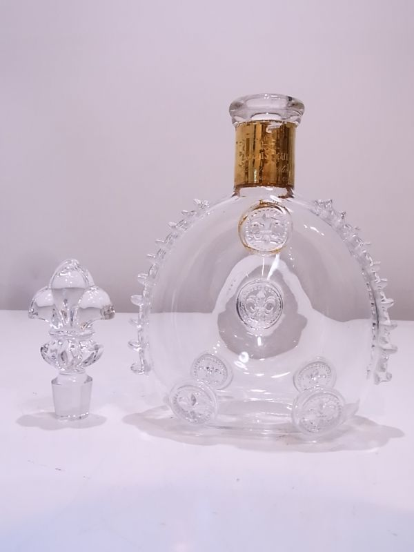 ◆◇REMY MARTIN LOUIS XIII ルイ13世 バカラ デキャンタ空き瓶 替え栓付◇◆_画像3