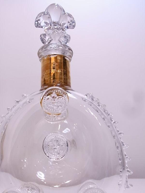 ◆◇REMY MARTIN LOUIS XIII ルイ13世 バカラ デキャンタ空き瓶 替え栓付◇◆_画像4