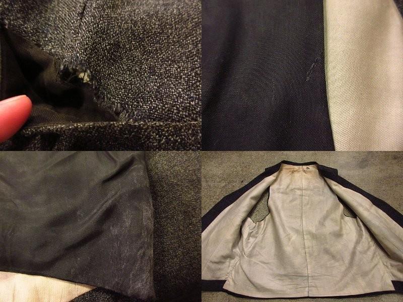 ビンテージ30's★HAMPTON HEATH 2Bスーツスリーピースグレー★191222s4-m-suit 1930sセットアップウールメンズ_画像6