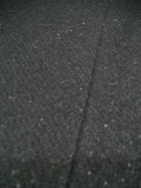 ☆A.O. アツキ オオニシ ATSUKI ONISHI☆スカート ボトムス レディース 裾フレアー/フリンジ 黒ブラック ラメ☆W61_画像5
