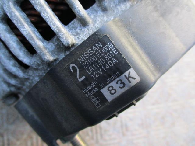 1630329 ティーダ C11 オルタネーター 23100 ED00B_画像2