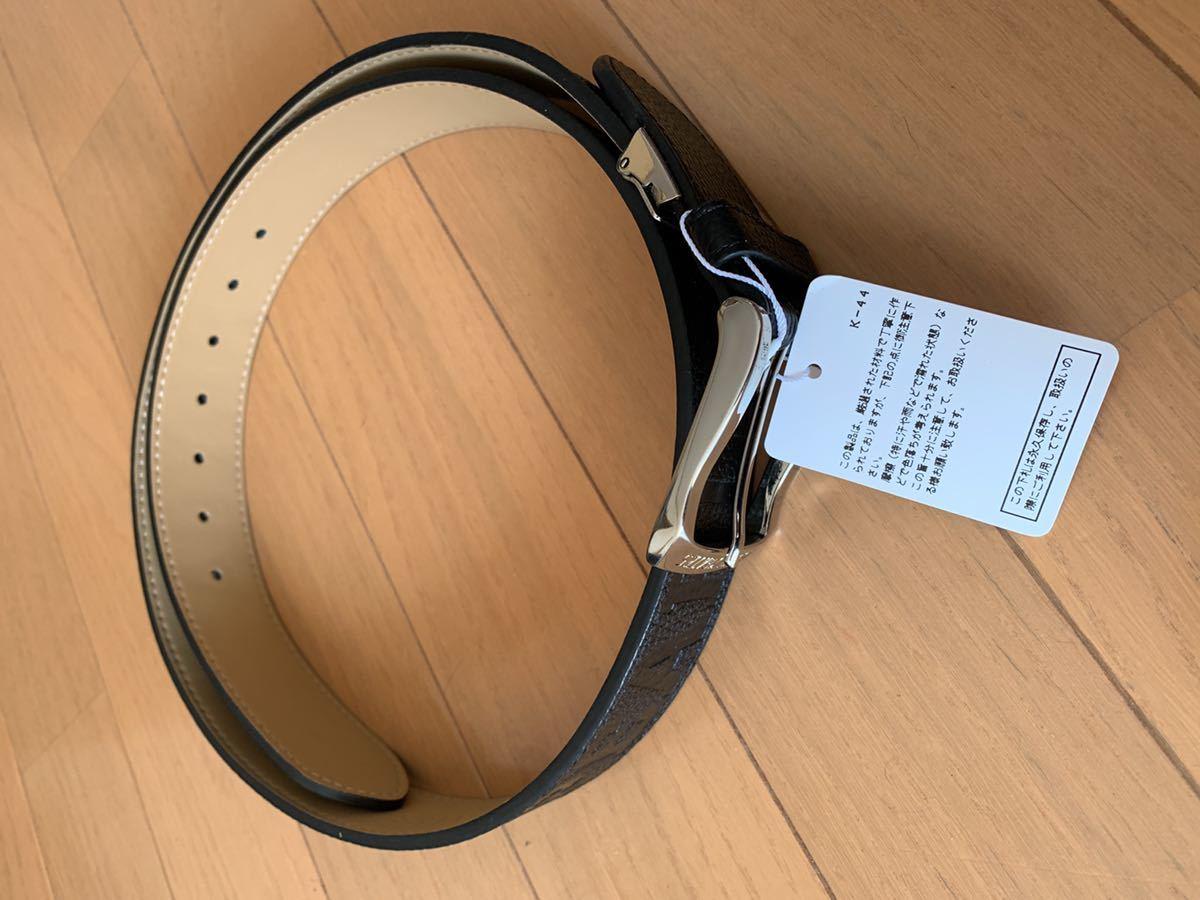 新品 PEARLY GATES /パーリーゲイツ メンズ 凸凹 ロゴ ベル?#21435;榨戛` 黒