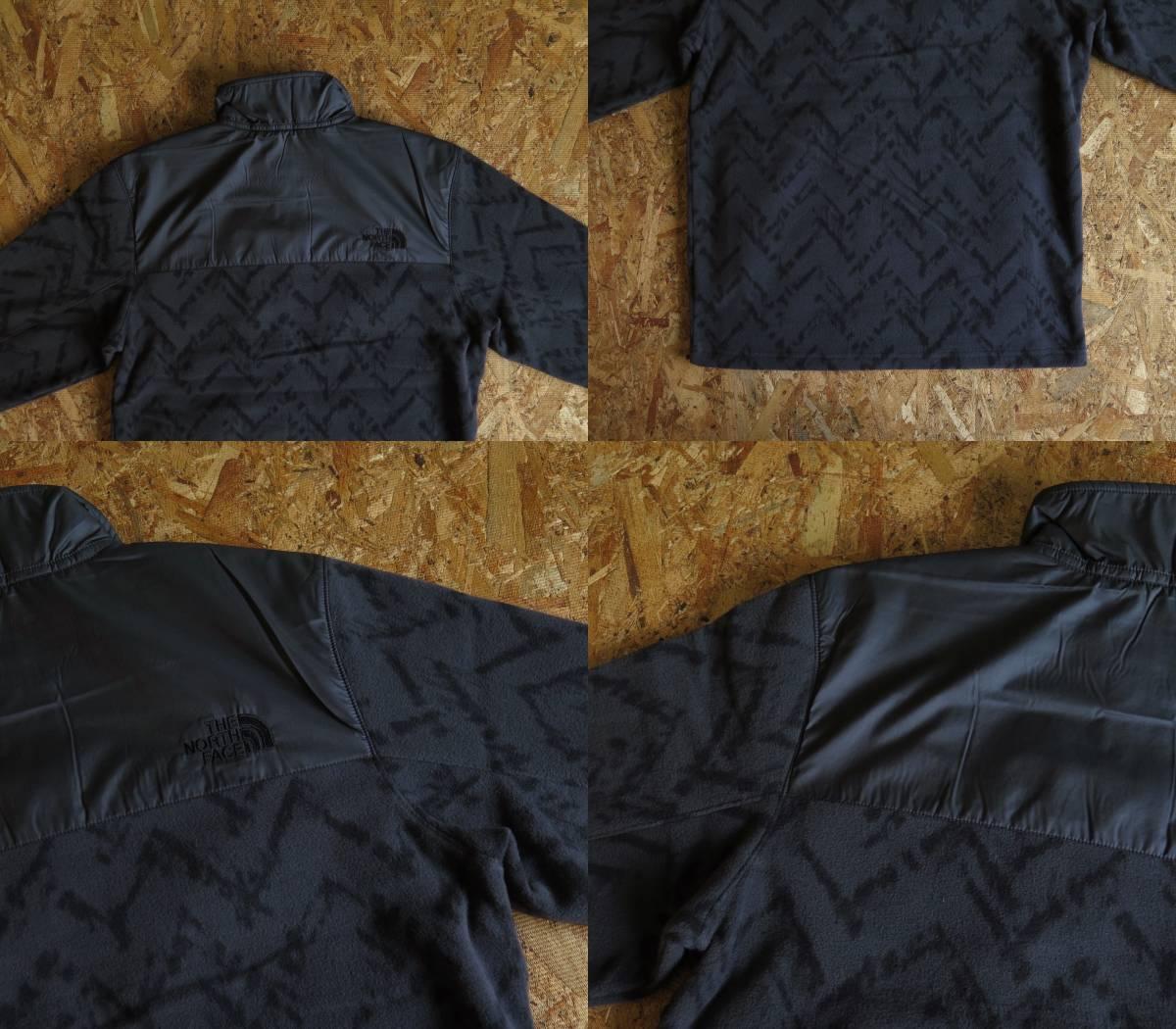 新品☆本物 THE NORTH FACE PULLOVER FLEECE JACKET XLサイズ ノースフェイス フリース プルオーバー ジャケット アメリカモデル USAモデル_画像8