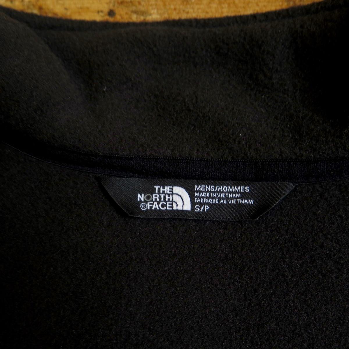 新品☆本物 USAモデル THE NORTH FACE 300 TUNDRA FLEECE JACKET Sサイズ ノースフェイス フリースジャケット BLACK アメリカ購入_画像9