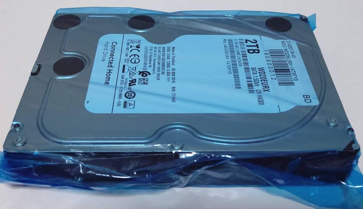 WesternDigital WD20EURX - 3.5インチHDD SATA WD AV-GP 2TB(SATA150)/使用時間極小 #14