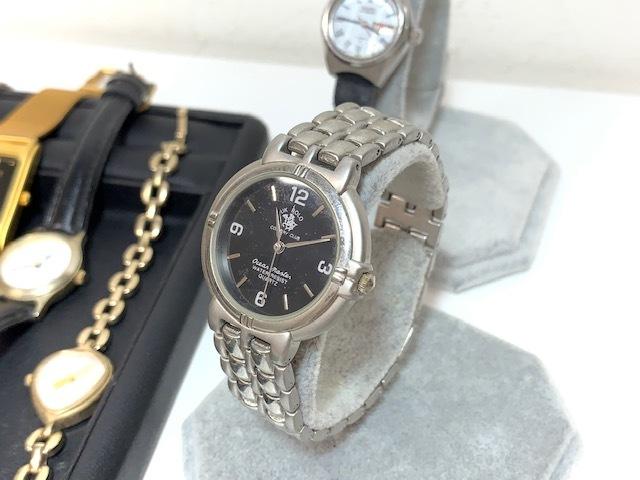 ※6036 大量 腕時計 14点セット レディース SEIKO UK POLO SKAGEN おまとめ_画像2