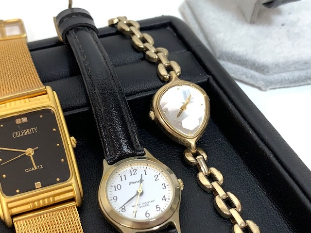 ※6036 大量 腕時計 14点セット レディース SEIKO UK POLO SKAGEN おまとめ_画像8