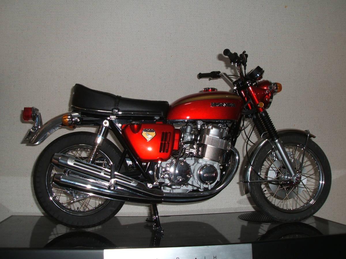ディアゴスティーニ HONDA  CB750FOUR 4分の1 精巧モデル