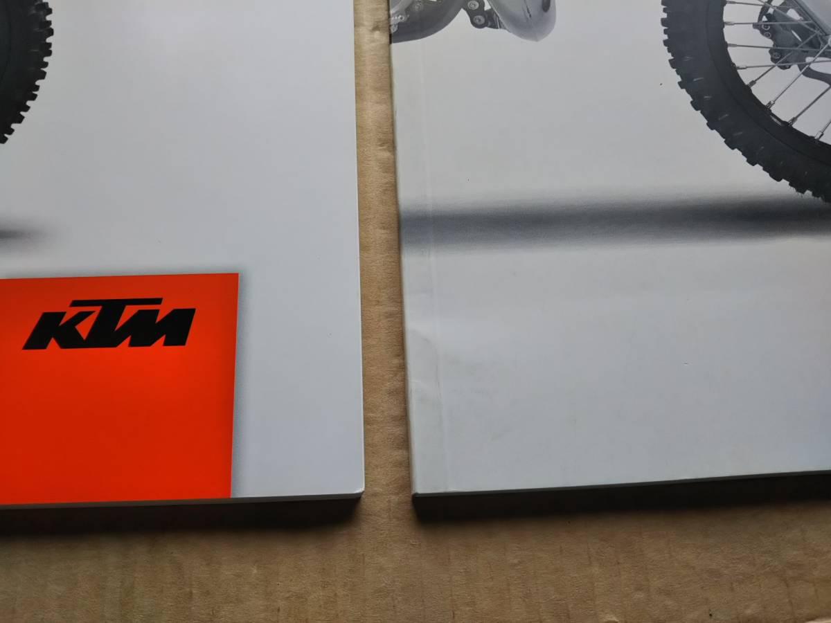 2冊 KTM65SX 取扱説明書 2015 日本語版 英語版 取説 オーナーズマニュアル オートバイ オフロードバイク 使用説明書_画像3