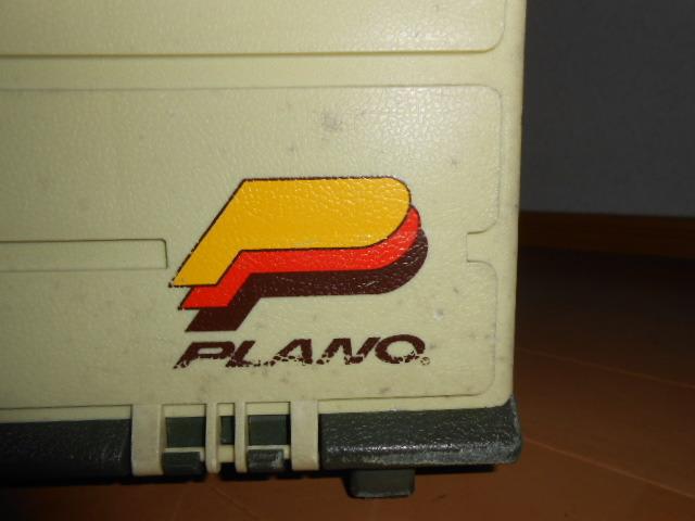 希少 プラノ タックルボックス モデル 787 ティムコ ヘドン フェンウィック 入所困難 オールドタックルボックス 中古品 _画像9