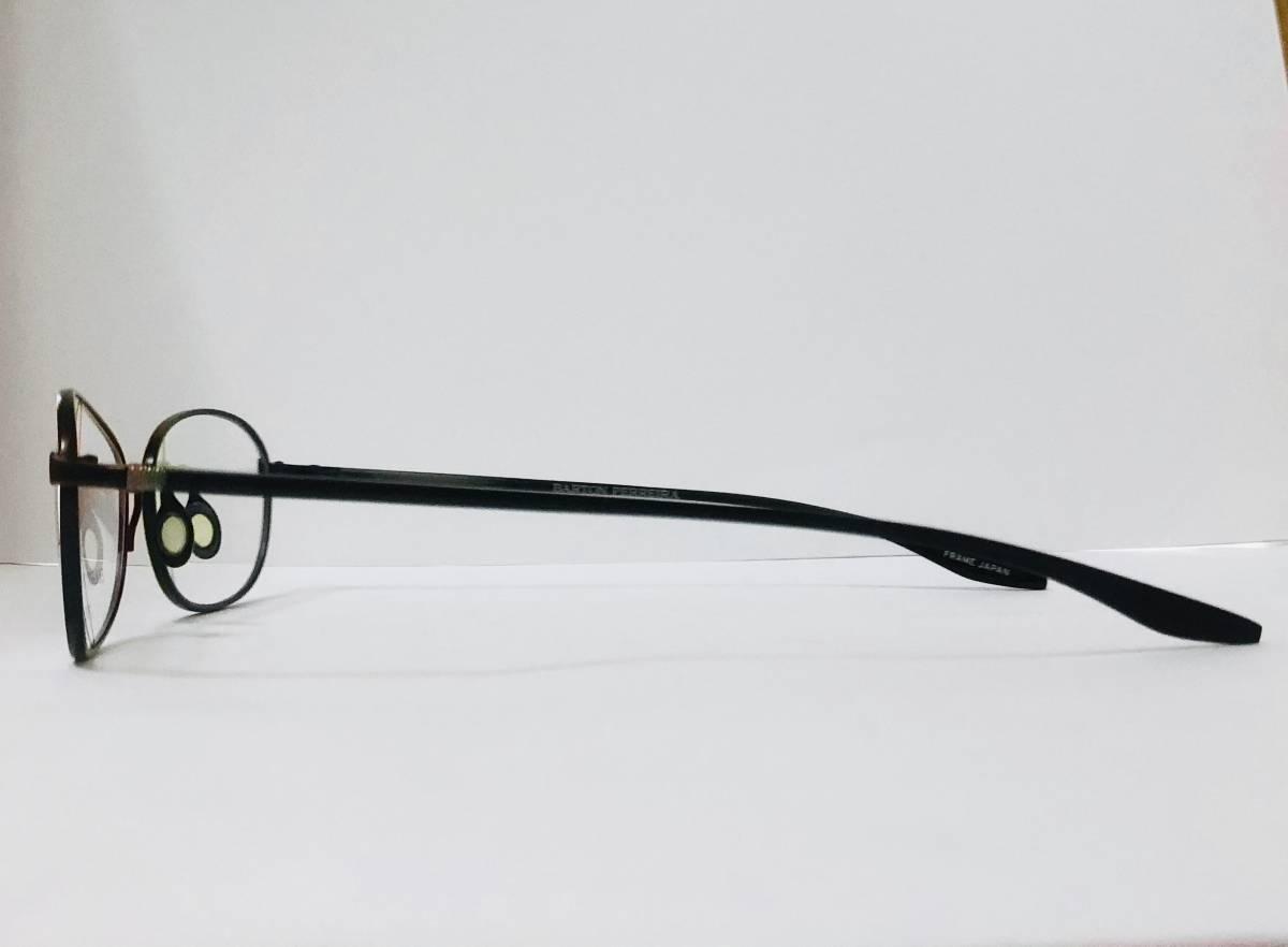 定価 42,500円 バートンペレイラ ヘイゼル チタン製 日本製メガネ 黒 Barton Perreira 米国ブランド _画像4