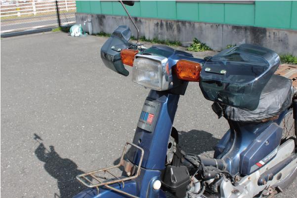 MADAMAX バイク用品 汎用 ナックルガード ハンドルガードTYPE2 スモーク/バンディット GSX400インパルス イナズマ KSR【送料800円】_画像4