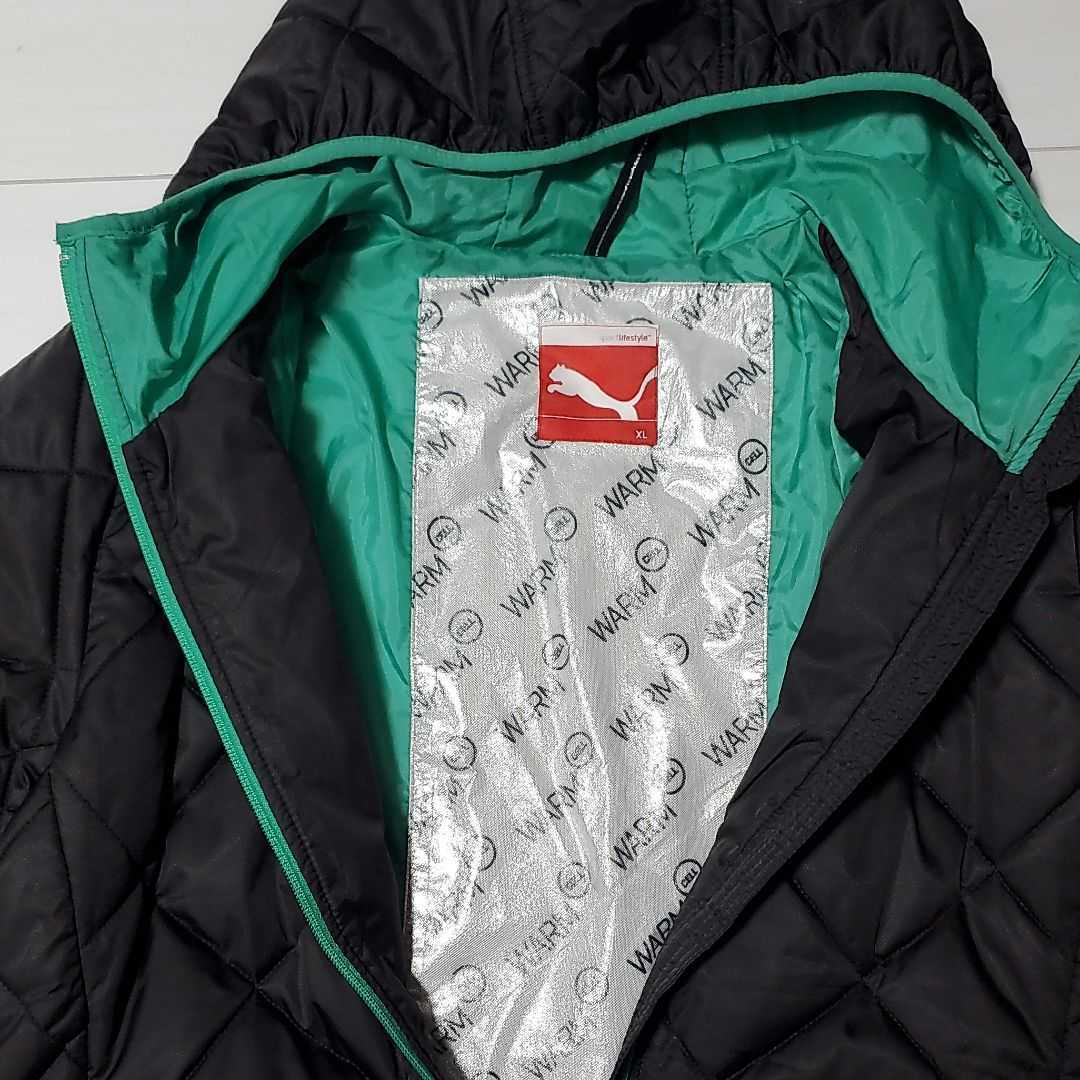 PUMA WARMナイロン中綿ジャケット XLサイズ_画像2