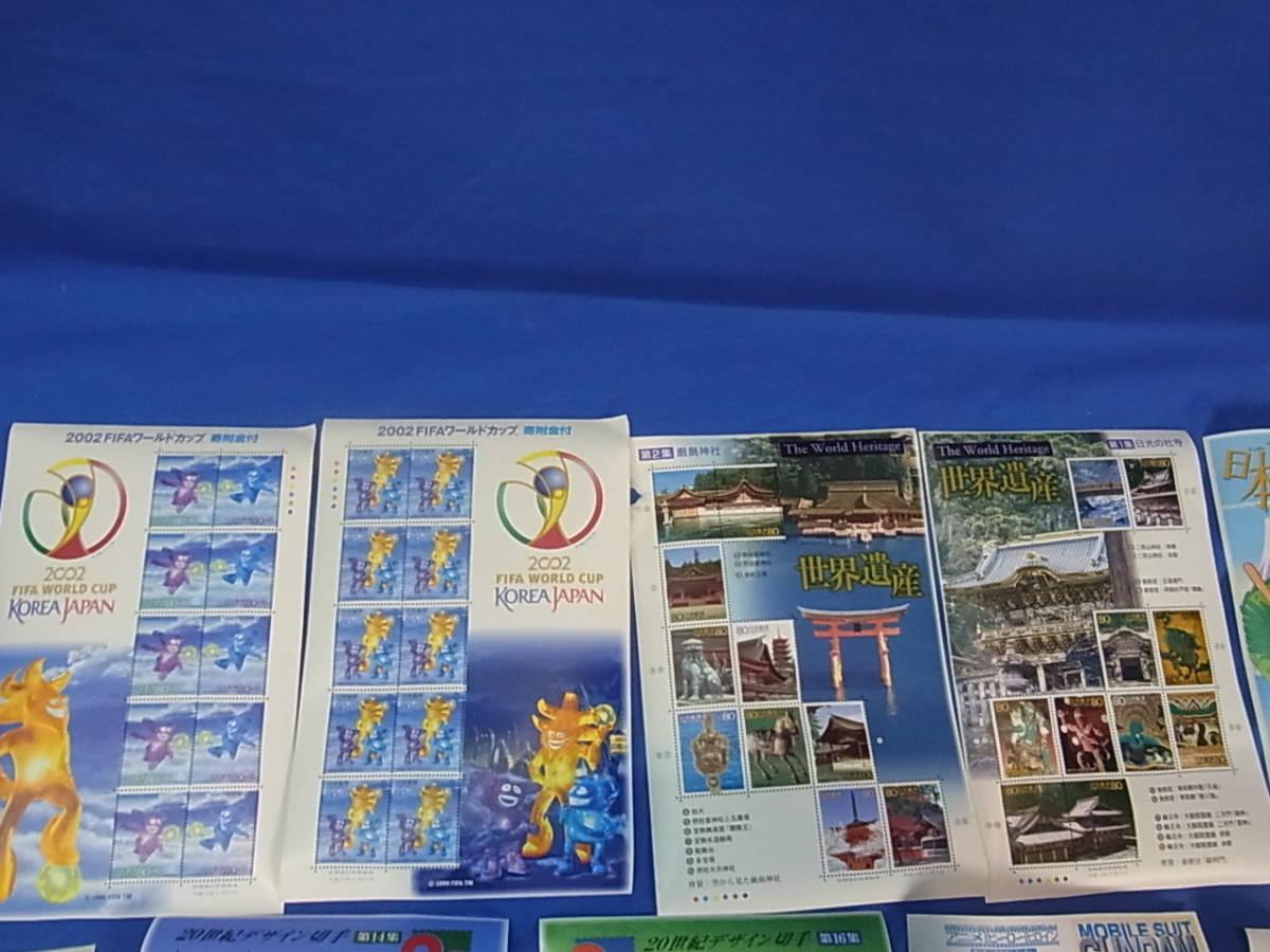 787★100円~★未使用切手 記念切手 額面 約27200円  バラ シート 色々まとめて■新品_画像6