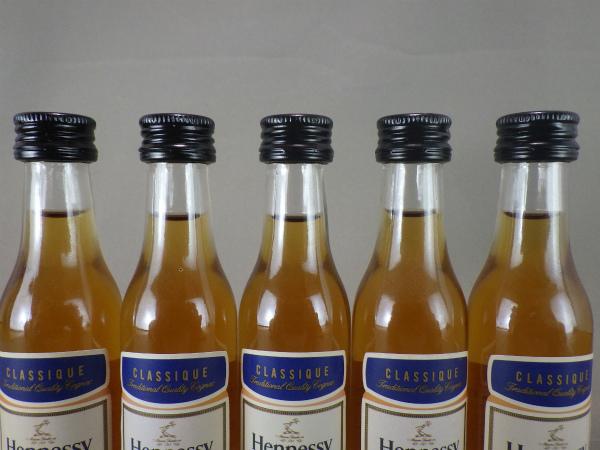 ☆ ヘネシー Hennessy ナジェーナ3本 クラシック5本 ミニボトル8本セット 未開栓 _画像8