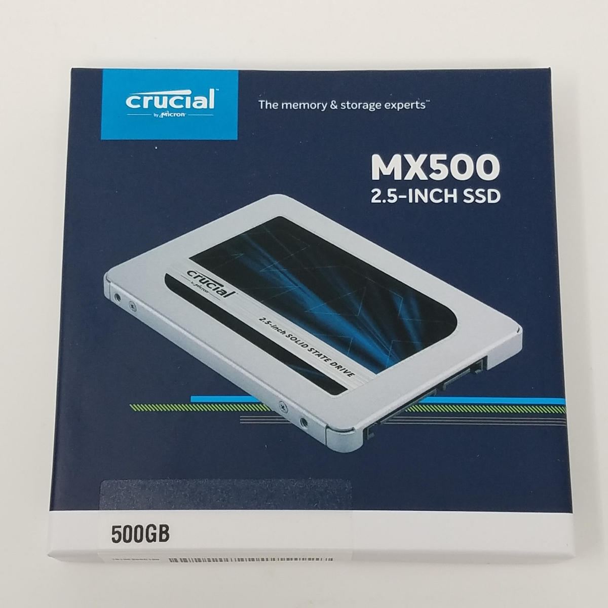 Crucial SSD MX500 500GB CT500MX500SSD1JP 新品未使用 送料無料
